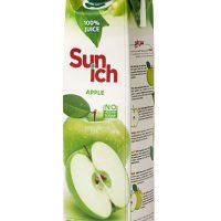 آبمیوه سیب سن ایچ پاکت 1 لیتری باکس 12 عددی