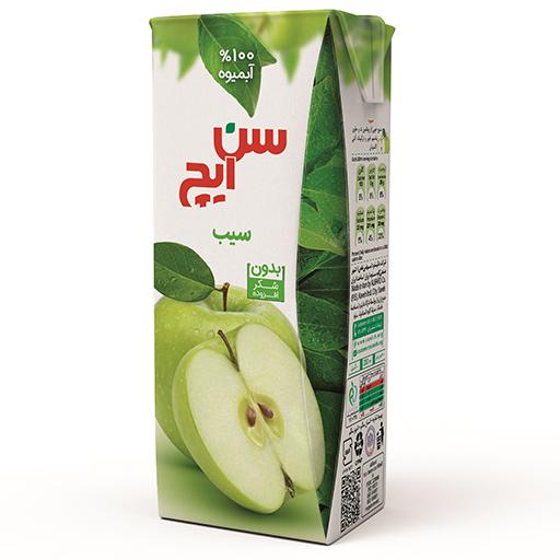 آبمیوه سیب سن ایچ پاکت 200cc باکس 36 عددی