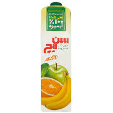 آب سیب پرتقال موز سن ایچ