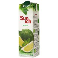 نوشیدنی موهیتو سن ایچ پاکت یک لیتری باکس 12 عددی
