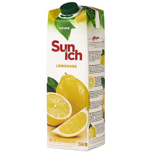 نوشیدنی لیموناد سن ایچ پاکت یک لیتری باکس 12 عددی