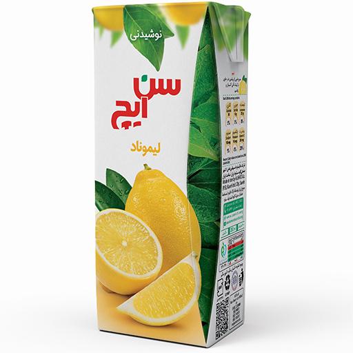 نوشیدنی لیموناد سن ایچ پاکت 200cc باکس 36 عددی