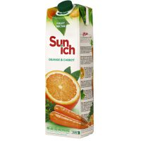 نکتار پرتقال هویج سن ایچ پاکت 1 لیتری