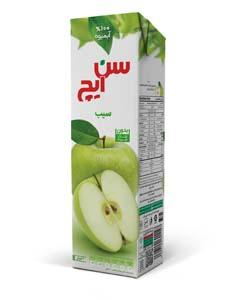 آبمیوه سیب سن ایچ پاکت 1 لیتری