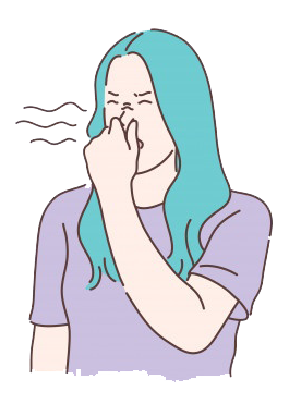 بوی بد در محیط کار