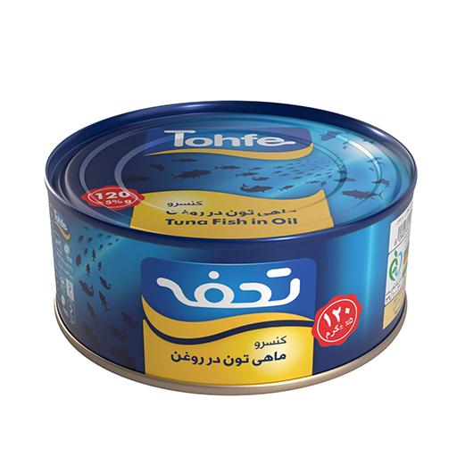 کنسرو تن ماهی هوور تحفه 120 گرمی