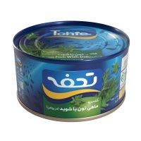 کنسرو تن ماهی هوور تحفه 180 گرمی با شوید