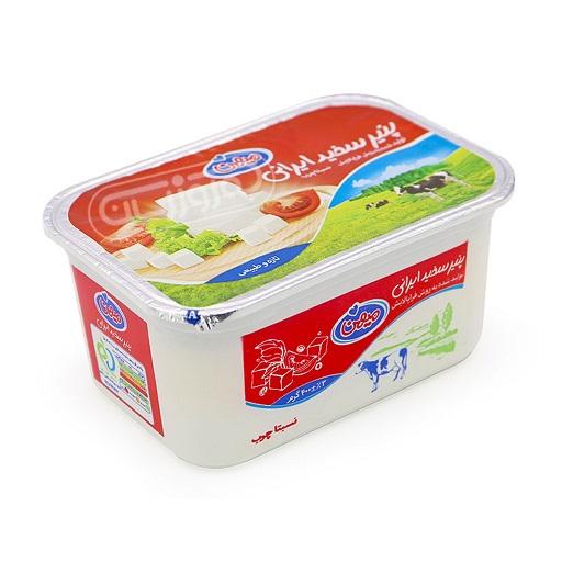 پنیر سفید ایرانی 400 گرمی میهن باکس 24 عددی