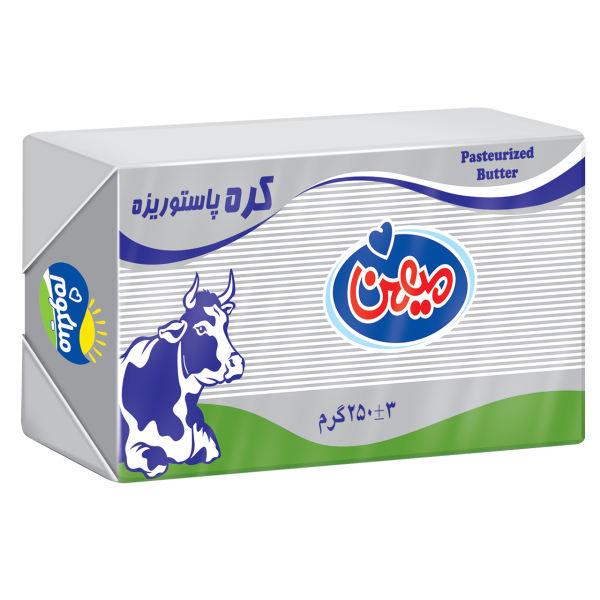 کره پاستوریزه 250 گرمی لفاف میهن باکس 24 عددی